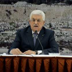 Palestinian President Mahmoud Abbas Announces Hamas and Israel Ceasefire