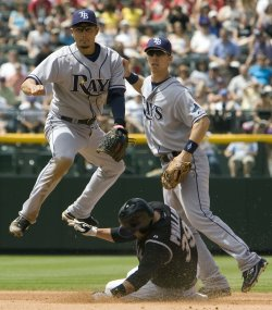 Tampa Bay Rays vs Colorado Rockies in Denver
