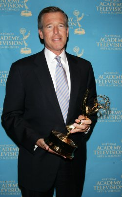 Brian Williams arrives for the News and Documentary Emmy Awards in New York