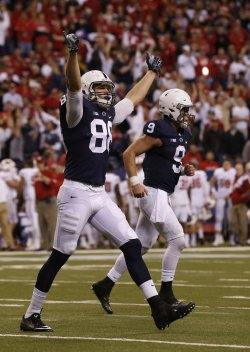 Penn State Mike Gesicki in the Big 10 Championship
