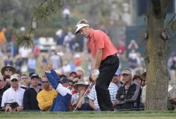 Round two of the US Open at Torrey Pines Golf Course in San Diego