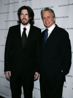 Michael Douglas and Jason Reitman arrive for the National Board of Review of Motion Pictures Awards Gala in New York