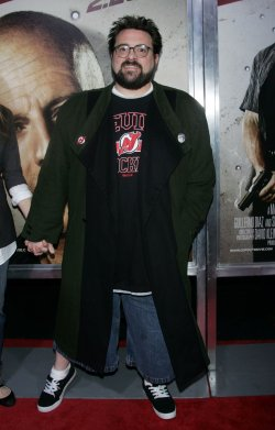 """Kevin Smith arrives for the """"Cop Out"""" Premiere in New York"""