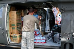 Members of the Puerto Rico National Guard Prepare Relief Mission for Culebra and Vieques