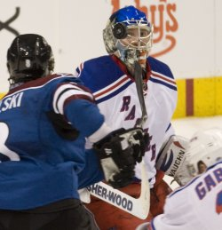 Rangers Goalie Johnson Eyes Avalanche Shot in Denver