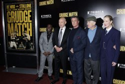Grudge Match Premier at the Ziegfield Theatre