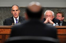 Federal Reserve Chairman Ben Bernanke testifies in Washington