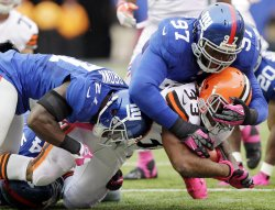 Cleveland Browns at New York Giants