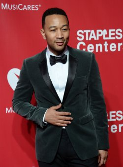 John Legend attends the MusiCares Person of the Year gala in Los Angeles