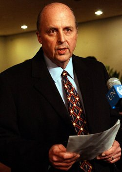 USA UN AMBASSADOR JOHN NEGROPONTE NAMED AMBASSADOR TO IRAQ