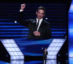 Seth Meyers hosts the ESPY Awards in Los Angeles