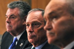 New York City Mayor Michael Bloomberg, police commissioner Raymond Kelly and Rep. King testify in Washington