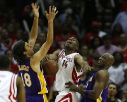 NBA Playoffs Los Angeles Lakers vs Houston Rockets in Houston