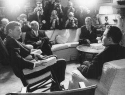 President Kennedy and Soviet Foreign Minister Andrei Gromyko