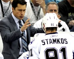 Tampa Bays Guy Bouches Coaches Lightning to 8-2 Win in Pittsburgh