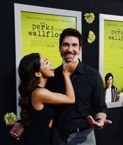 "Dylan McDermott and Shasi Wells attend ""The Perks of Being a Wallflower"" premiere in Los Angeles"