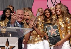 Victoria's Secret models receive star on Hollywood Walk of Fame in Los Angeles