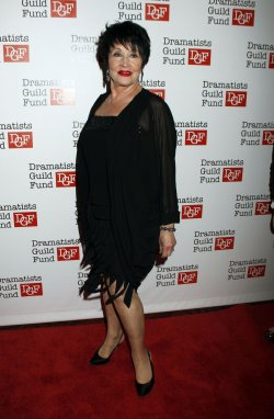 Chita Rivera arrives for the Dramatists Guild Fund's 50th Anniversary Gala in New York
