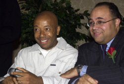 RUSSELL SIMMONS AND MICHAEL POWELL HONORED AS 2001 FATHERS OF THE YEAR