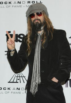 Rob Zombie attend the Rock and Roll Hall of Fame in New York