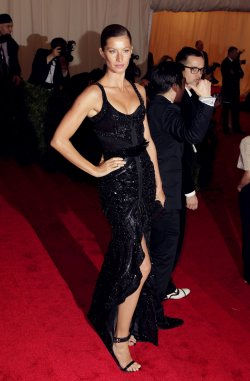Gisele Bundchen at the Costume Institute Gala Benefit at the Metropolitan Museum of Modern Art in New York