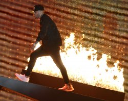 Nicky Jam Performs at the 2017 Billboard Latin Music Awards
