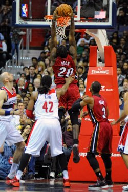Washington Wizards vs Miami Heat in Washington