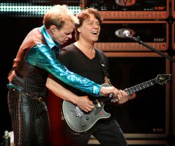 Van Halen performs in Sunrise, Florida