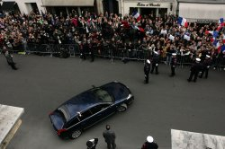 Inauguration of France's president in Paris