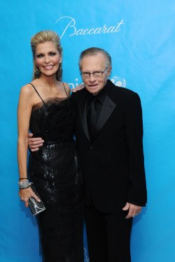 Larry King and wife Shawn King attend the UNICEF Ball in Beverly Hills, California