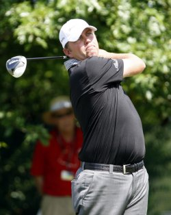 Bo Van Pelt plays in Wells Fargo Championship in Charlotte