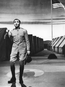"""Irving Berlin sings """"Oh, how I hate to get up in the morning"""" in 1943"""