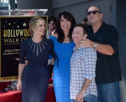 Katy Sagal honored with star on Hollywood Walk of Fame in Los Angeles