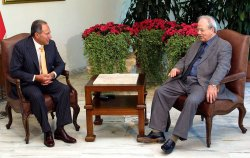 LEBANESE PRESIDENT RECEIVES PALESTINIAN OFFICIAL