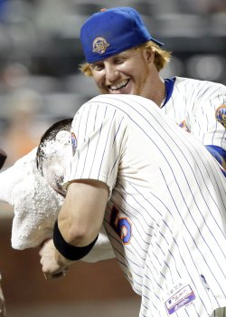 New York Mets defeat the Philadelphia Phillies at Citi Field in New York