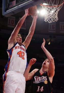 Philadelphia 76ers vs New York Knicks