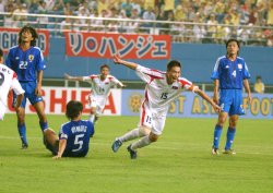 EAST ASIAN FOOTBALL CHAMPIONSHIP FINAL COMPETITION 2005 BEGINS IN KOREA