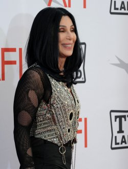 Cher arrives at the AFI Lifetime Achievement Awards in Culver City, California