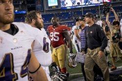 San Francisco 49ers vs Baltimore Ravens in Baltimore