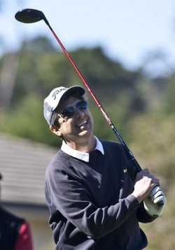Comedian Ray Romano plays in the 3M Celebrity Challenge at Pebble Beach, California