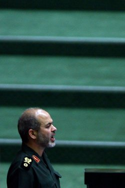 The third day of the Iranian Parliament hearing on Ahmadinejad's cabinet in Tehran