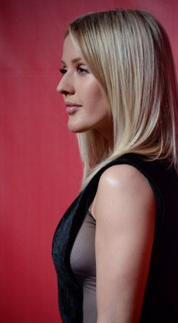 Ellie Goulding attends the MusiCares Person of the Year gala in Los Angeles