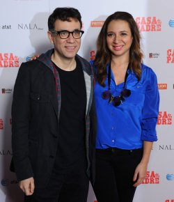 "Fred Armisen and Maya Rudolph attend the ""Casa de mi Padre"" premiere in Los Angeles"