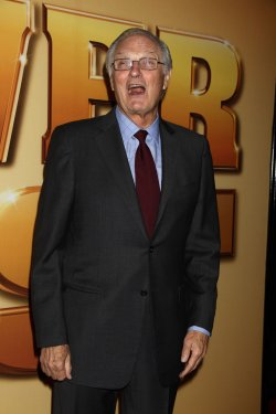 "Alan Alda arrives for the ""Tower Heist"" Premiere in New York"