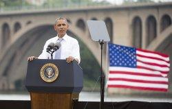 President Obama Speaks on the Economy in Washington, D.C.