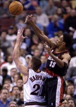 Portland Trail Blazers at Philadelhpia 76ers NBA Basketball