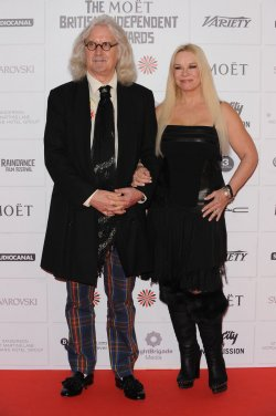 Billy Connolly and Pamela Stephenson Connolly attend The 15th Moet British Independent Film Awards in London.