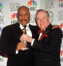Ving Rhames he humbly turned the trophy over to veteran Jack Lemon