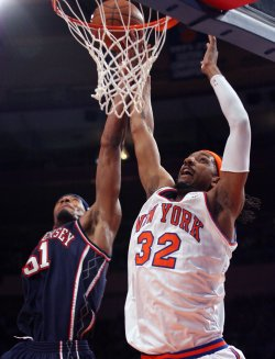 New Jersey Nets vs New York Knicks
