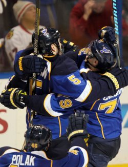 Western Conference playoffs Chicago Blackhawks vs St. Louis Blues